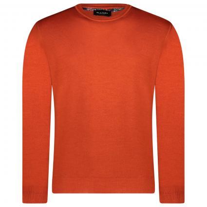 Pullover mit Rundhalsausschnitt  orange (866)   S