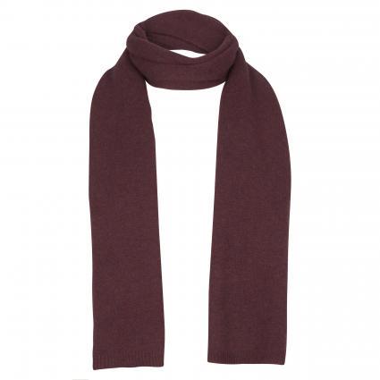 Schal aus reinem Cashmere bordeaux (1306 burgundy) | 0