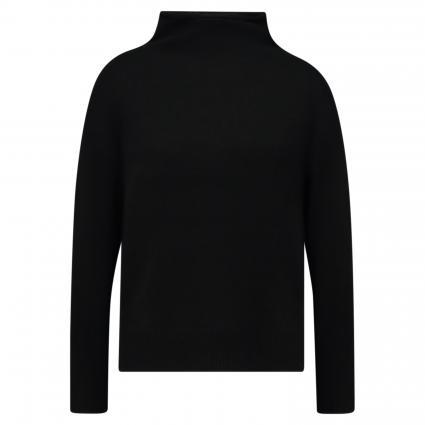 Pullover mit Stehkragen aus Cashmere schwarz (black ) | L