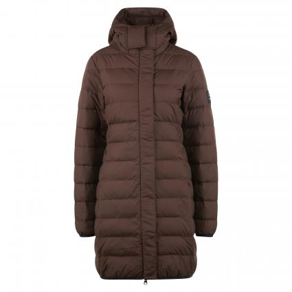 Steppjacke mit Kapuze braun (129 BROWN) | M