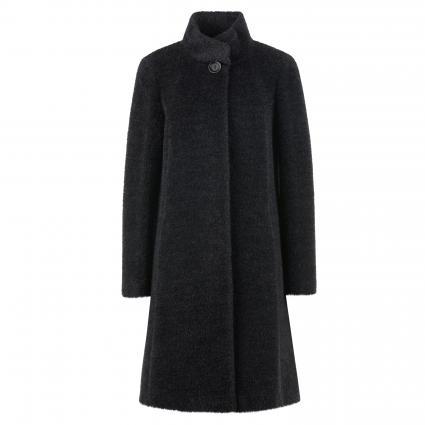 Mantel mit Stehkragen anthrazit (3 anthrazit) | 38