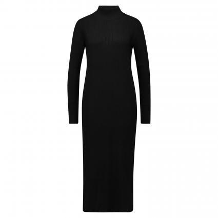 Strickkleid mit langen Ärmeln schwarz (1025 black) | 42