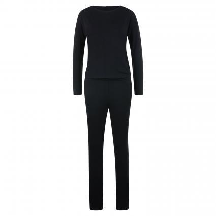 Jumpsuit mit langen Ärmeln schwarz (110 black) | S