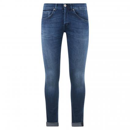 Skinny-Fit Jeans 'George' blau (800 blue) | 34