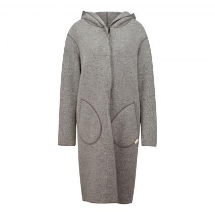 Mantel 'Shady' aus softer Wollmischung grau (grau) | XS