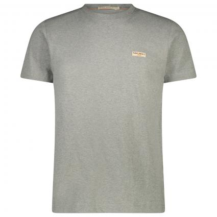Basic T-Shirt 'Daniel'  grau (grey mel) | XL