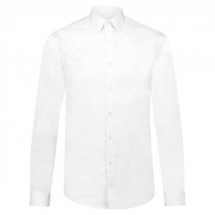 Extra Slim-Fit Hemd  weiss (090) | 39