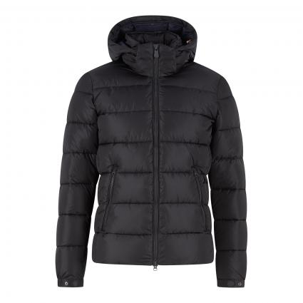 Steppjacke mit Kapuze anthrazit (1177 grey black) | M