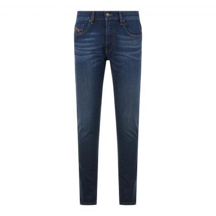 Slim-Fit Jeans 'D-Strukt' blau (9HN dk blue) | 31 | 32