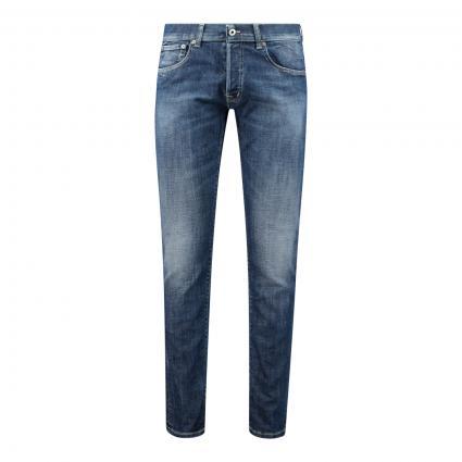 Regular-Fit Jeans 'Quentin' blau (800 blue) | 34