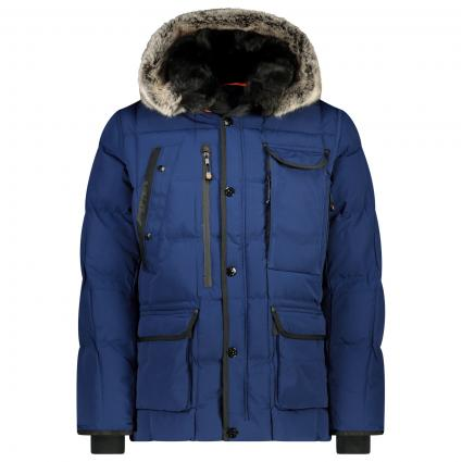 Jacke 'Marvellous' mit Kapuze  blau (royal blue)   XL