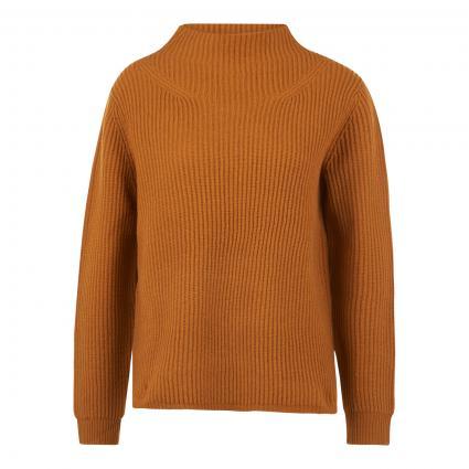 Pullover aus Merinowolle gelb (keystone) | XXL