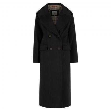 Mantel 'Mara' aus softer Wollmischung schwarz (999BLACK) | L