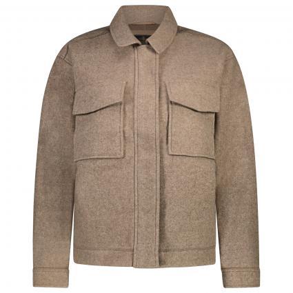 Jacke 'Elfi' mit aufgesetzten Taschen  beige (light beige)   S