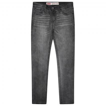Skinny-Fit Jeans Hose  grau (D8A FLUME) | 164