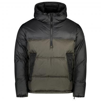 Gesteppte Jacke mit Kapuze schwarz (NBK/BLV KK001) | L