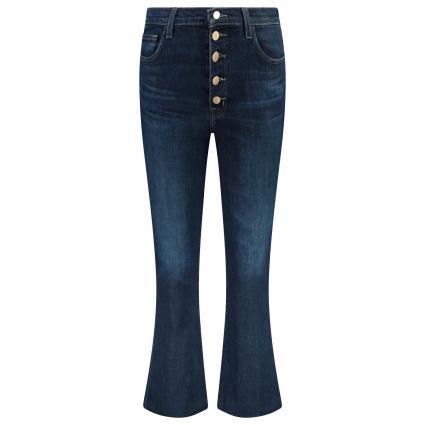 High-Waist Jeans Hose mit weitem Bein  blau (J2909 IMPULSE) | 29