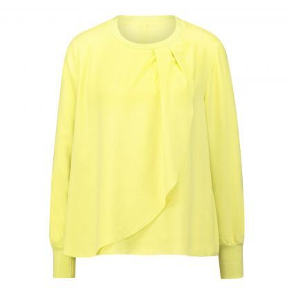 Bluse mit dekorativem Akzent grün (411 lemonade) | 34