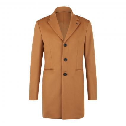 Klassischer Mantel aus softer Wollmischung beige (B709 camel light) | 52