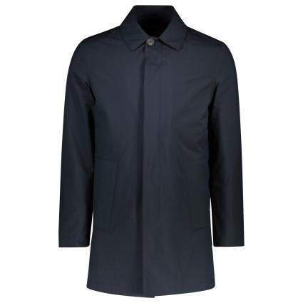 Mantel mit Kragen  marine (001) | 54
