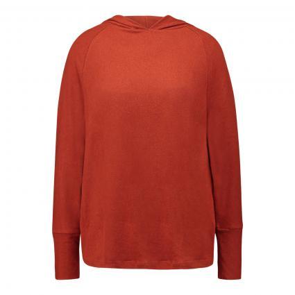 Sweatshirt mit Kapuze  cognac (brick) | S