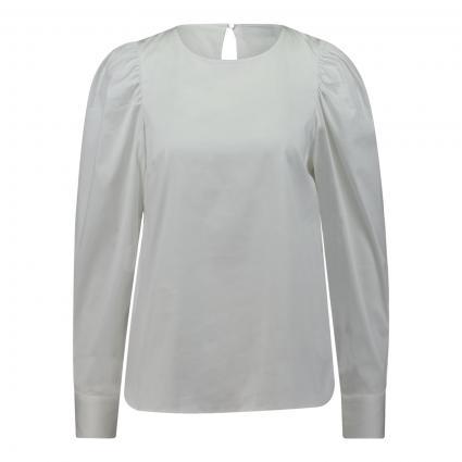 Bluse 'Gigi' mit Puffärmeln weiss (101 WHITE) | L