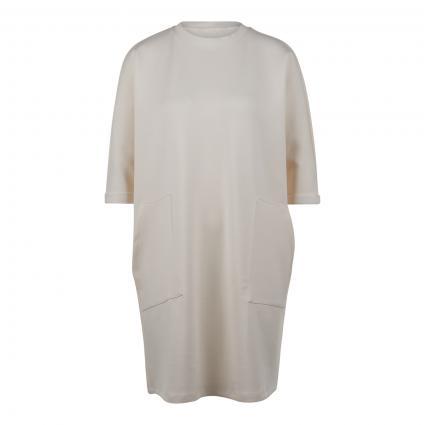 Shirt-Dress mit aufgesetzten Taschen ecru (11 ecru) | S