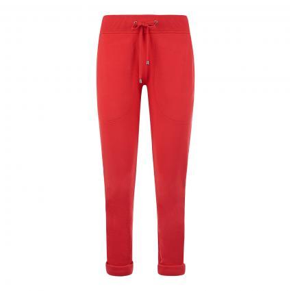 Sweatpant mit elastischem Bund rot (558 fire)   XXL