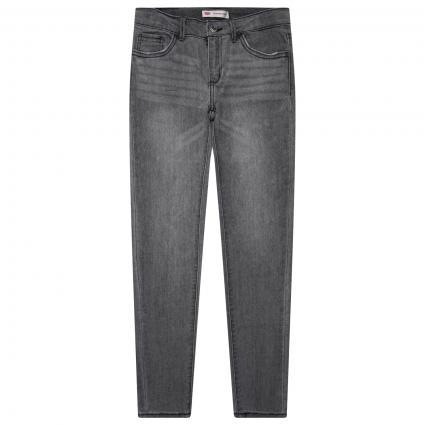 Super Skinny-Fit Jeans Hose  grau (D8A FLUME) | 140