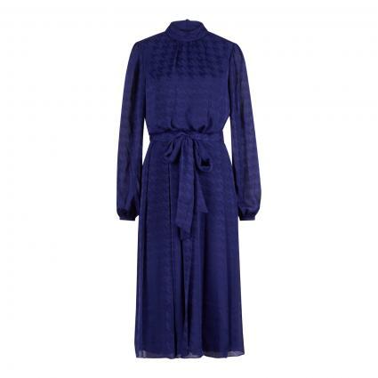 Kleid 'Wilmer' mit Bindegürtel  blau (BRT BLUE) | 40