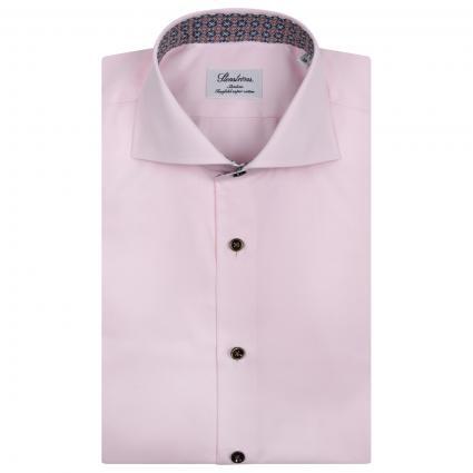 Slim-Fit Hemd mit Muster Details  rose (540 rose) | 39
