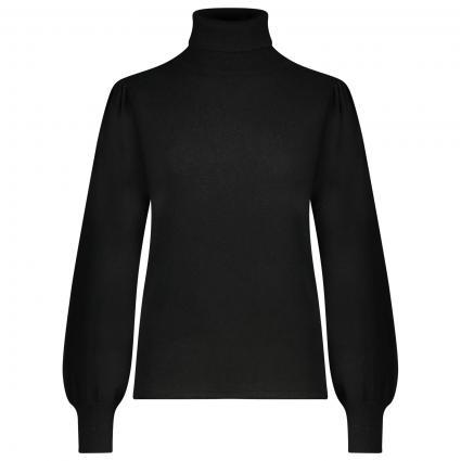 Rollkragen Pullover 'Mona Lisa'  schwarz (11 black) | L