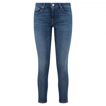 Cropped Jeans 'Pyper' blau (MID BLUE) | 28