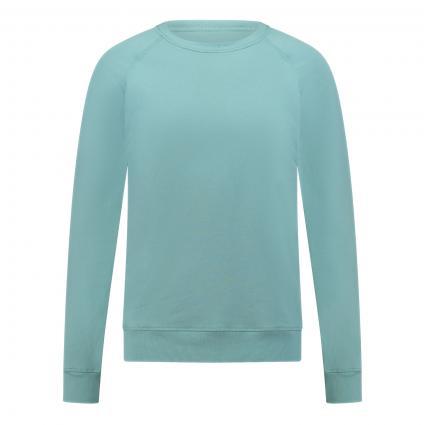 Sweatshirt mit breiten Bündchen grün (412 aqua)   XXL