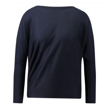 Langarmshirt mit überschnittenen Schultern marine (8823 navy) | S