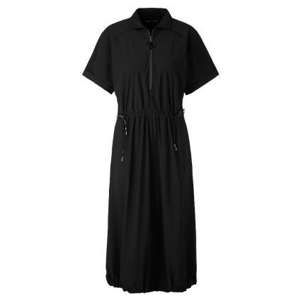 Kleid mit Einschubtaschen schwarz (900 black) | 42