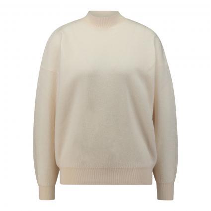 Pullover aus Merinowolle beige (NACRE) | XS/S
