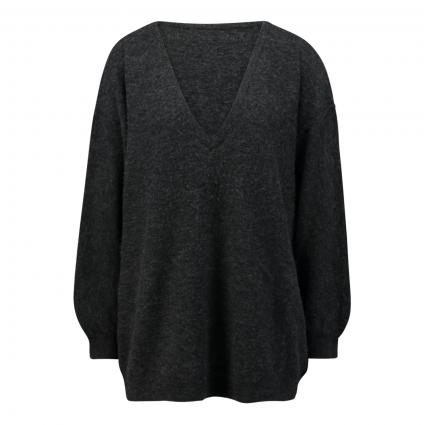 Pullover mit V-Ausschnitt  anthrazit (ANTHRACITE C) | M/L
