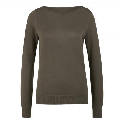 Basic Pullover  oliv (1288 khaki)   42