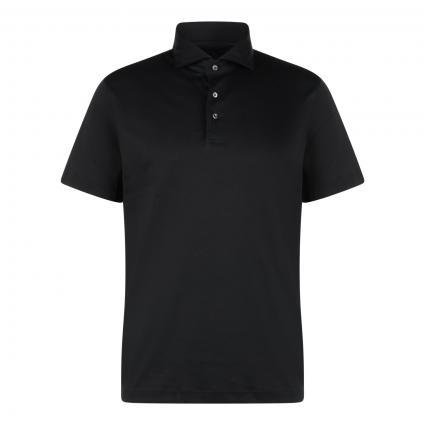 Hemd aus Jersey schwarz (099)   XXL