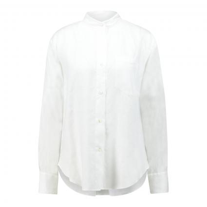 Bluse aus Leinen  weiss (001 weiß) | M