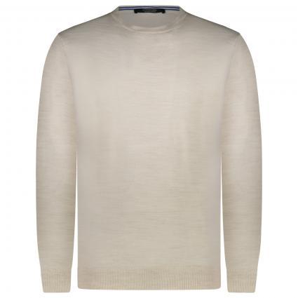 Pullover mit Rundhalsausschnitt  weiss (0171 Ecru) | XL