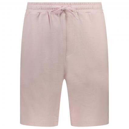 Bermuda Short mit Label-Stickerei  pink (W320 Stonewash Pink) | M