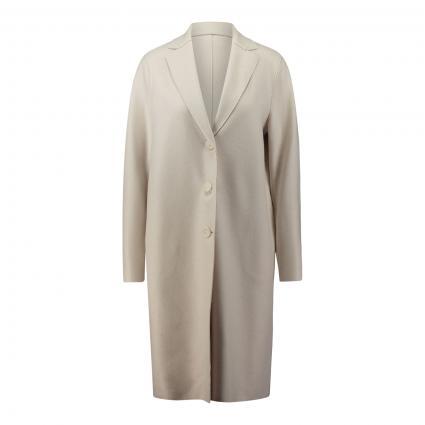 Mantel mit Kragen beige (412 cream) | 38