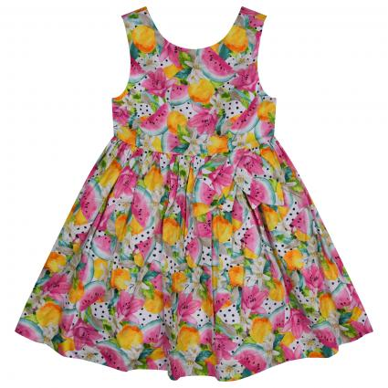 Kleid mit All-Over Muster divers (086 Camellia ) | 98