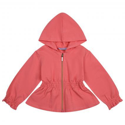 Sweatshirt Jacke mit Kapuze  orange (038 Flamingp) | 86