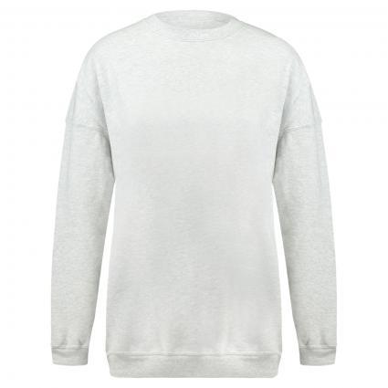 Unifarbenes Sweatshirt grau (GRIS CLAIR) | XS/S