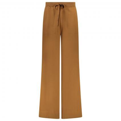 Sportliche Hose mit weitem Beinverlauf  braun (brown olive)   40