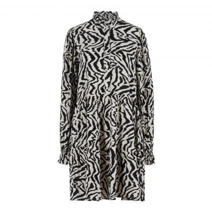 Kleid 'Zoku' mit All-Over Druck schwarz (COMBO1 BLACK Z1BL)   34