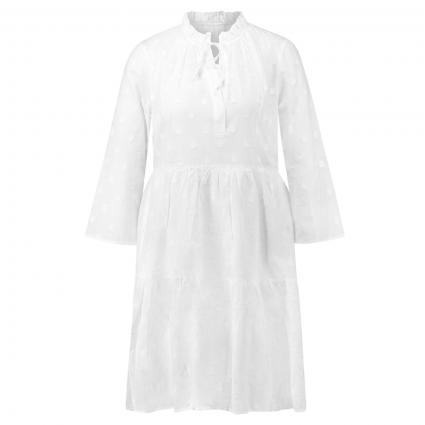 Kleid 'Milly' mit Stickereidetails weiss (0001 weiß) | M